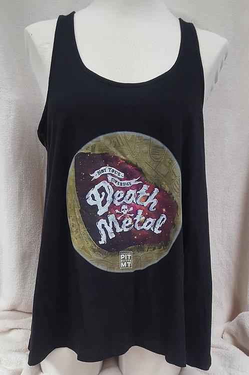 Not Your Average Death Metal Ladies Racerback Flare Tank