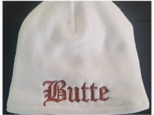 Butte Copper Beanie - White