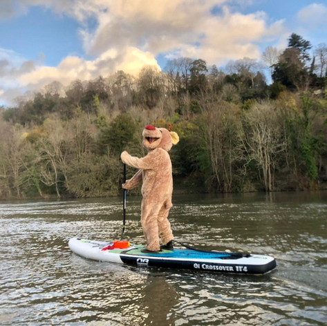 Maidenhead Sailing Club Paddleboard Rudolf