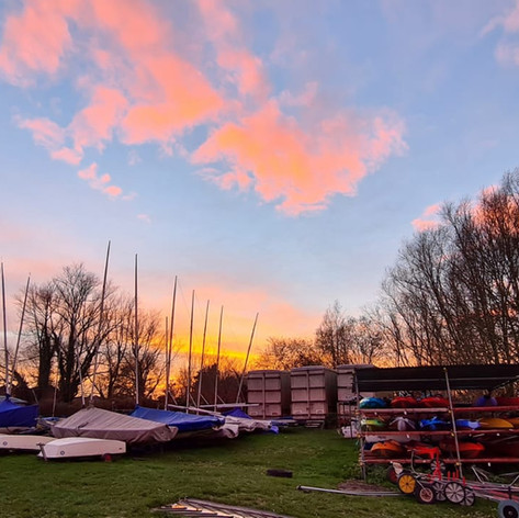 Maidenhead Sailing Club Boat parking