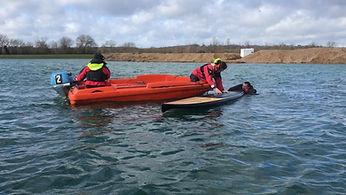 Maidenhead Sailing Club Training Safety Boat