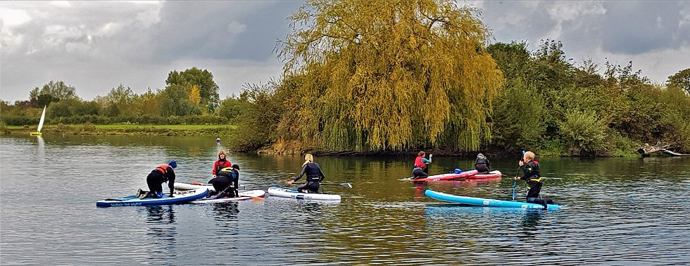 Maidenhead Sailing Club Paddleboard Training