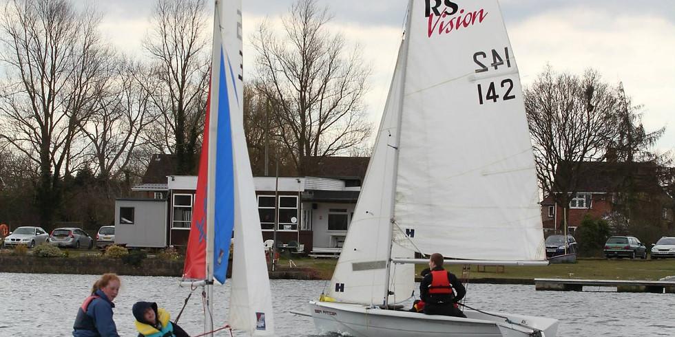 RYA Start Sailing Levels 1 and 2