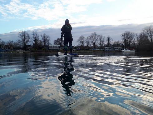 Maidenhead Sailing Club Solo paddle
