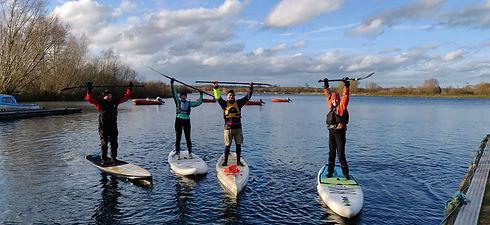 Maidenhead Sailing Club Winter Paddle