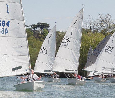 Maidenhead Sailing Club Solo Fleet