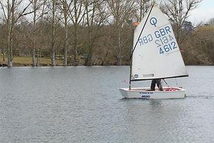 Maidenhead Sailing Club Sailing Optimist Oppie