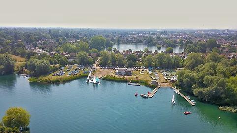 Maidenhead Sailing Club Drone View