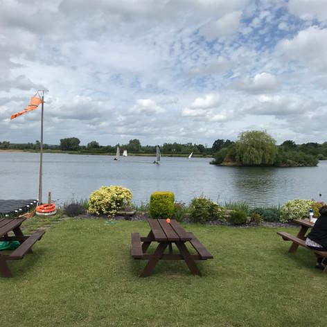 Maidenhead Sailing Club Picnic area