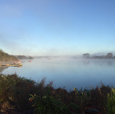 Maidenhead Sailing Club Foggy morning