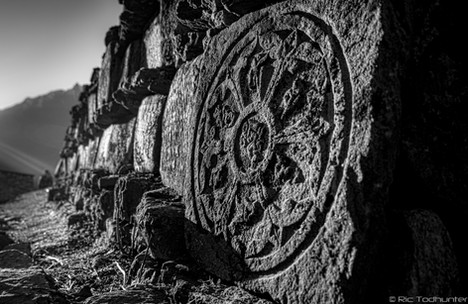 Mani Stones in the Morning Light