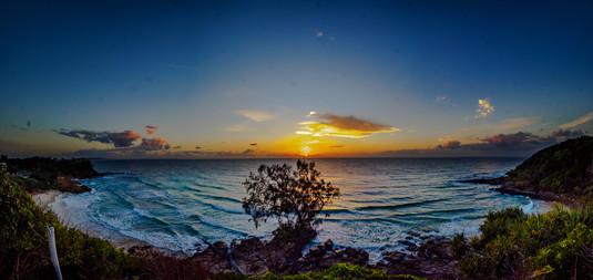 Dawn at the Bay