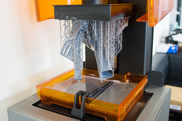 3D printing process. Automation technolo