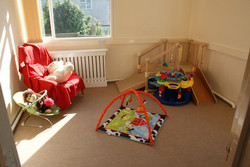 Old Boing! baby room