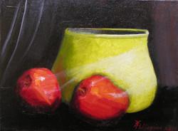Apples, Aura Wisp of Light