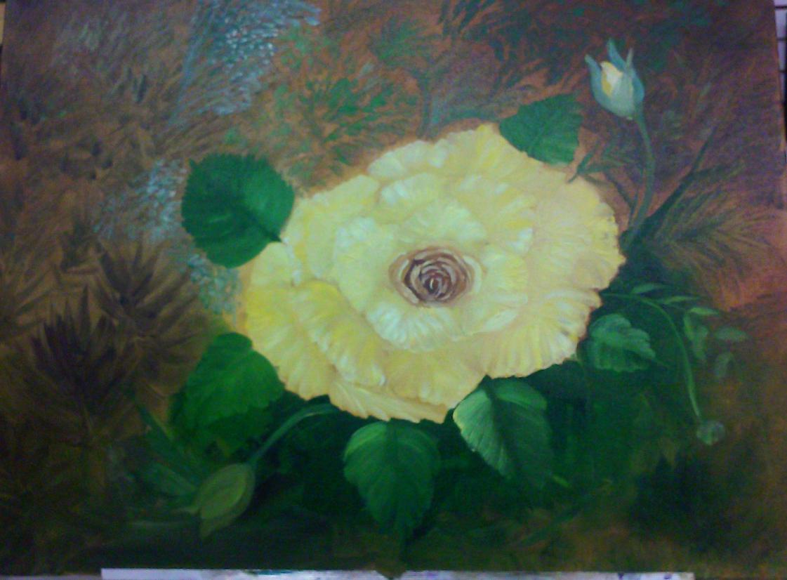 Yellow Rose Big As Texas