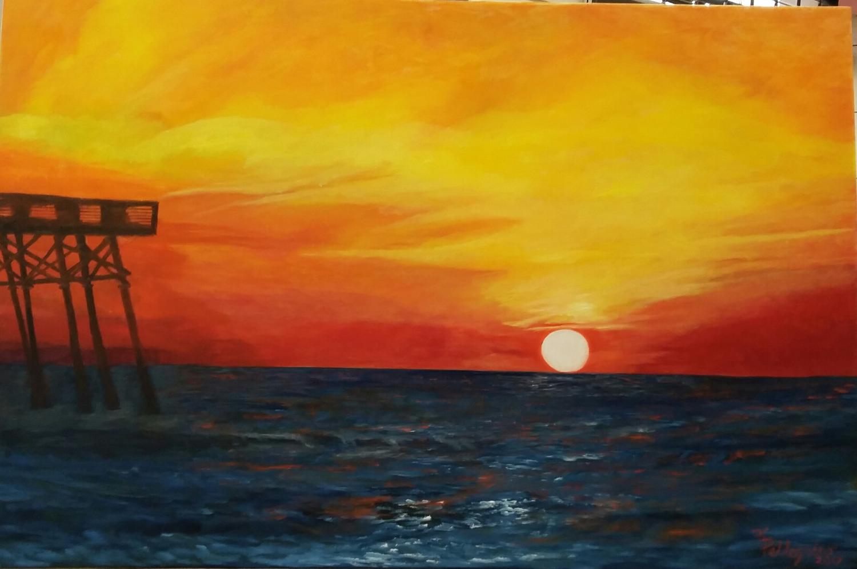 Sunrise A'PIERed In Surfside Beach