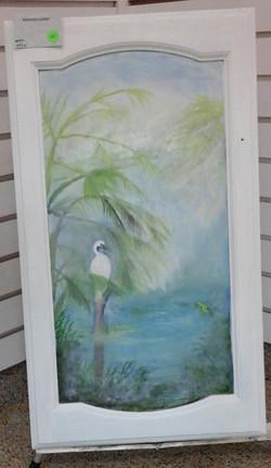A'DOORed Egret