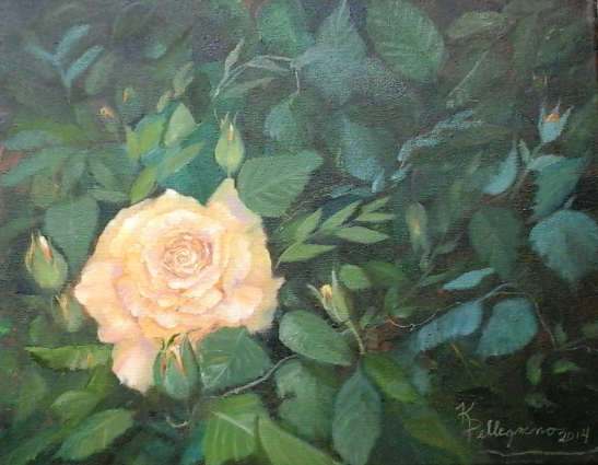 Life Is A Rose Garden...  SOLD