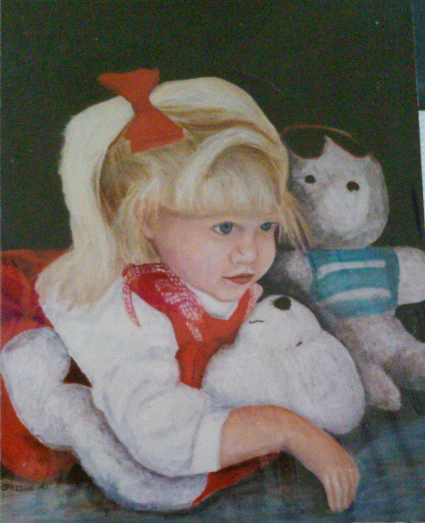 1st Portrait- Brittany 1995   SOLD