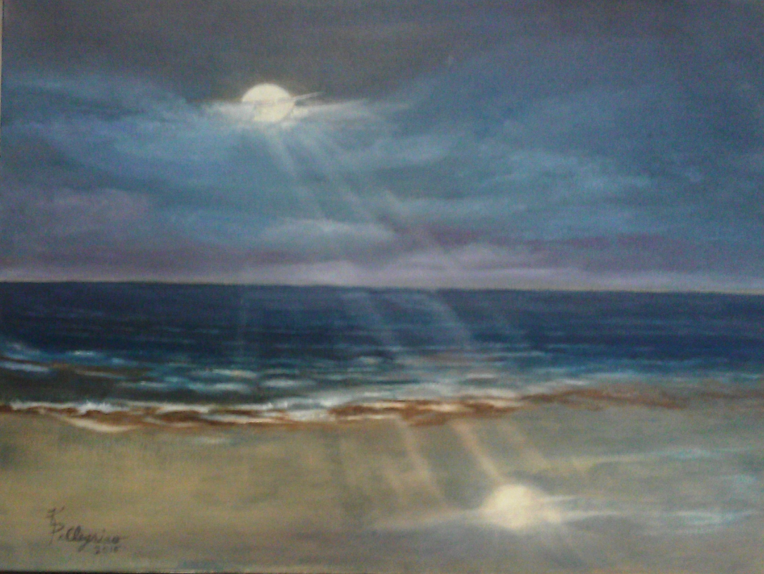 Once In A Blue Moon (SOLD)