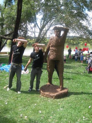 NGA Sculpture garden Sunday 2011