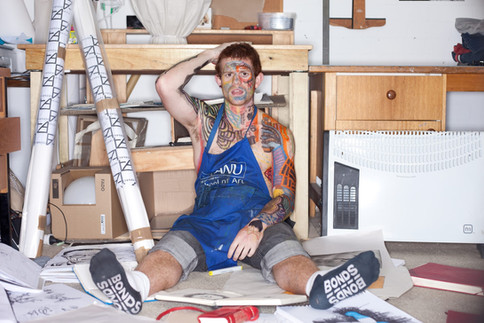 ANU School of Art studio shoot 2011