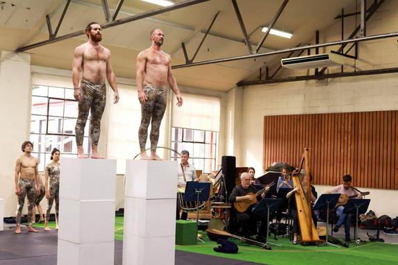 English Baroque Rehearsal Sydney 2019