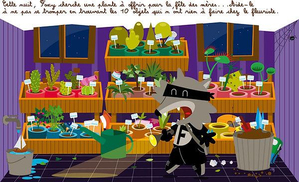 Création illustration - Magazine Air for Kids McDonald's - Smole Studio - Nantes, Savenay