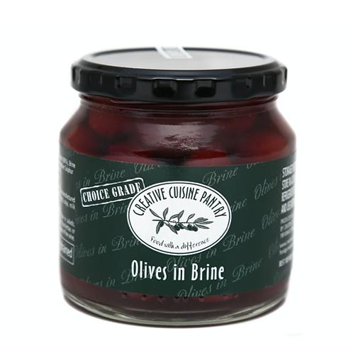Olives in brine 125g