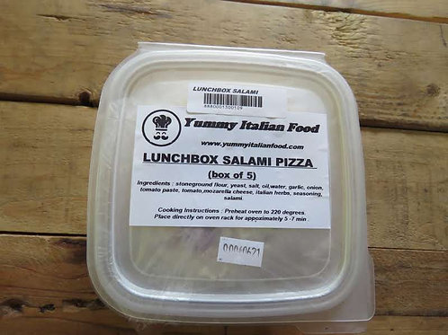 Lunchbox Cheese & Salami Pizza