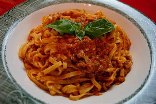 Beef Bolognese with pasta - 350g