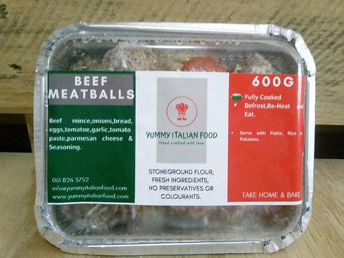 Beef Meatballs 650g