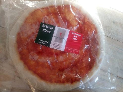Medium Tomato Pizza Bases Box