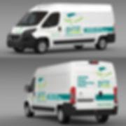 Décoration véhicule professionnel  - Garage Auto'n'home - Smole Studio - Nantes, Savenay