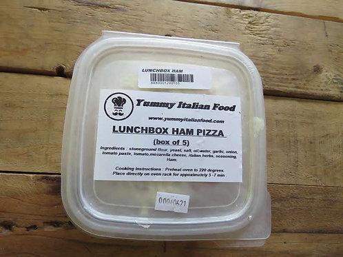 Lunchbox Cheese & Ham Pizza