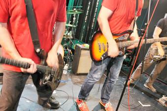 The Ex - closeup on guitars