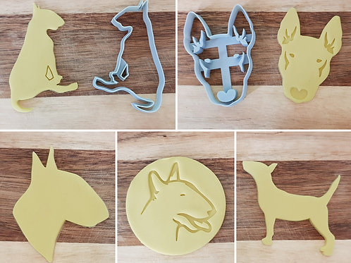 Bull Terrier Cookie Cutters