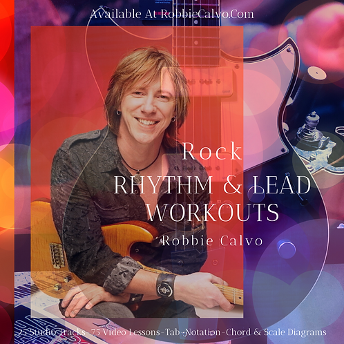 ROCK RHYTHM & LEAD WORKOUTS - DIGITAL DOWNLOAD