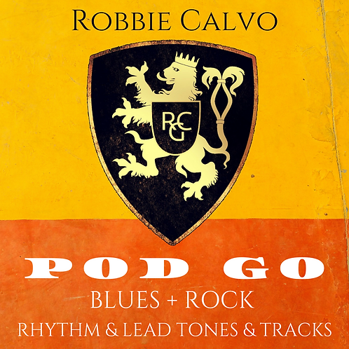POD GO - BLUES & ROCK - TONES & TRACKS