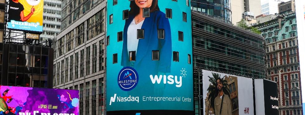 Wisy recognized as a Nasdaq Milestone Maker