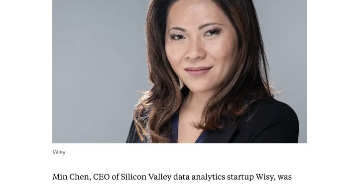 "Business Insider -  Wisy CEO Min Chen: ""Adapt or die"""