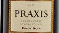 Praxis, Pinot Noir, Sonoma Coast, 2015