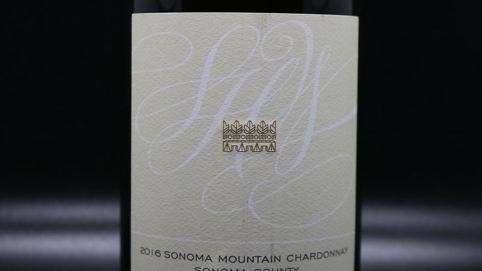 St. Helena, Sonoma Mountain Chardonnay, Sonoma County,