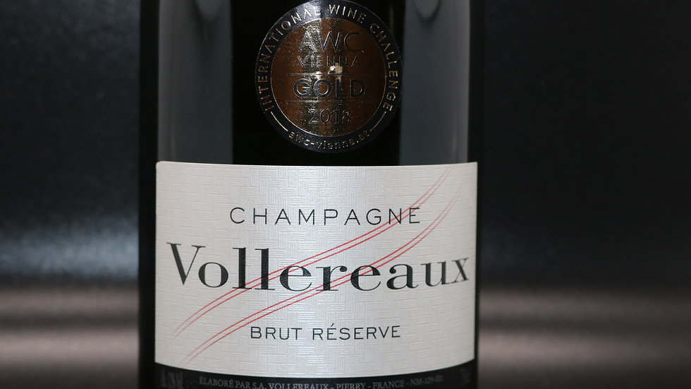 Champagne Vollereaux, Brut Reserve, Pierry France NV