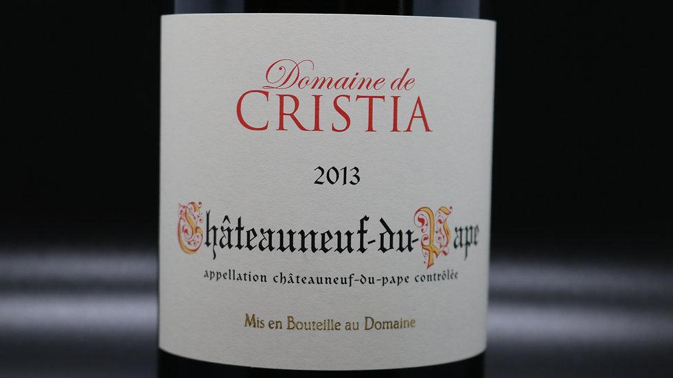 Domaine de Cristia, Chateauneuf-du-Pape, Rhone France, 2013