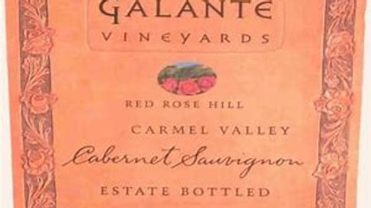 Galante, Red Rose Hill Cabernet Sauvignon, Carmel Valley, 2017