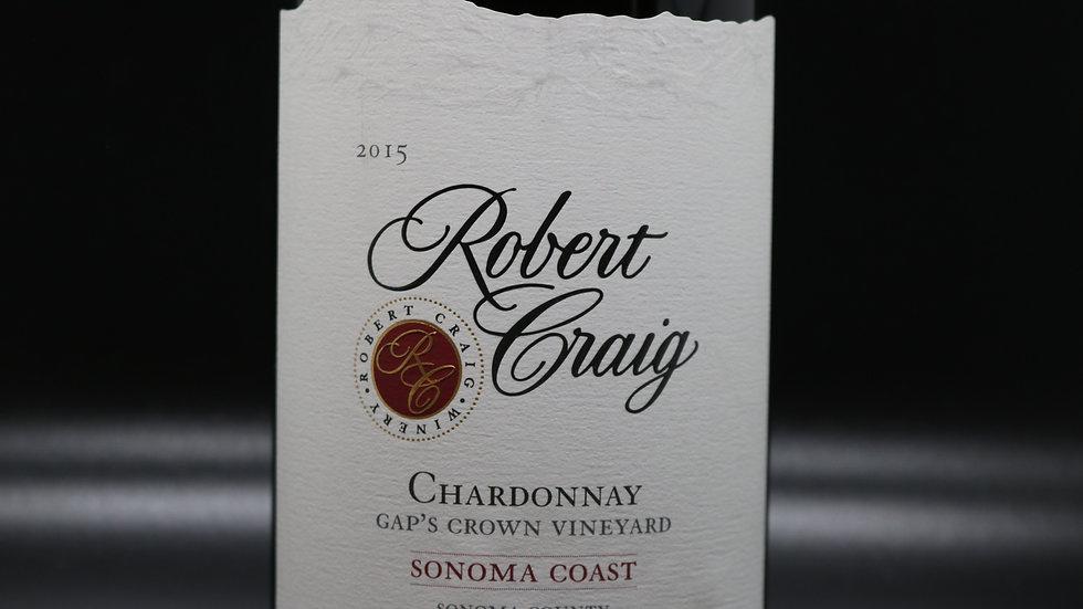 Robert Craig, Gap's Crown Vineyard Chardonnay, Sonoma Coast, 2015
