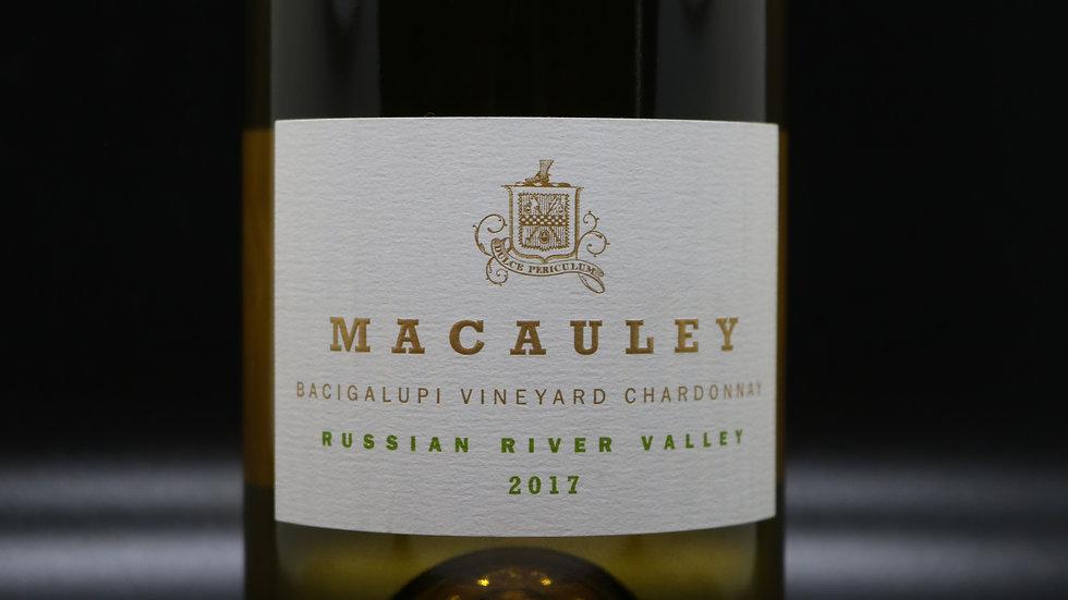 Macauley, Bacigalupi Vineyard Chardonnay, Russian River Valley, 2017