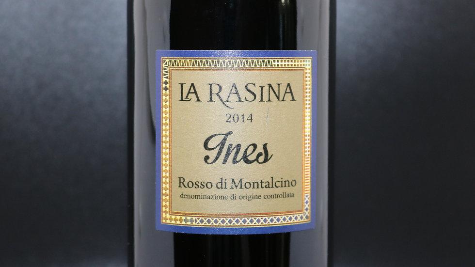 """La Rasina, """"Ines"""" Rosso di Montalcino, Italy 2014"""